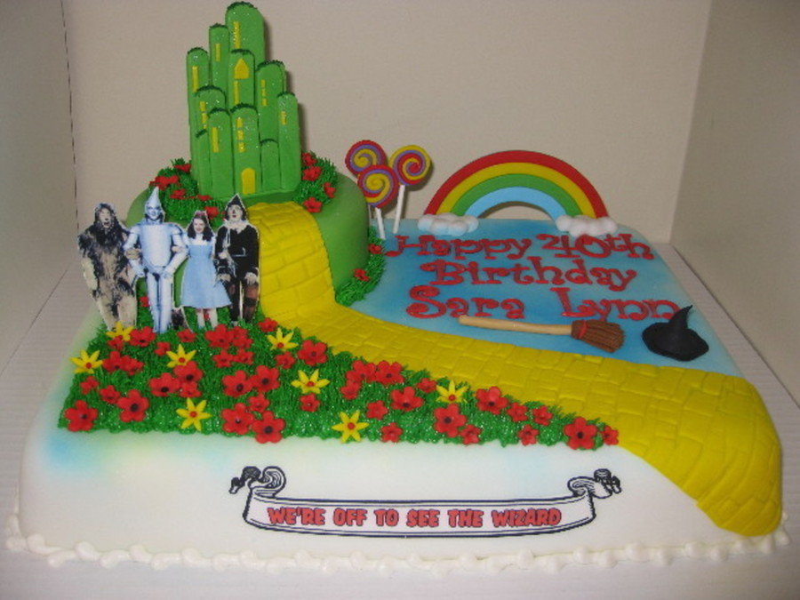 Miraculous The Wizard Of Oz Birthday Cakecentral Com Funny Birthday Cards Online Bapapcheapnameinfo