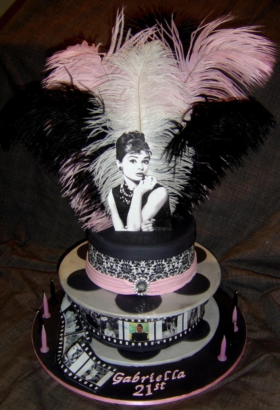 Audrey Hepburn Birthday Cake