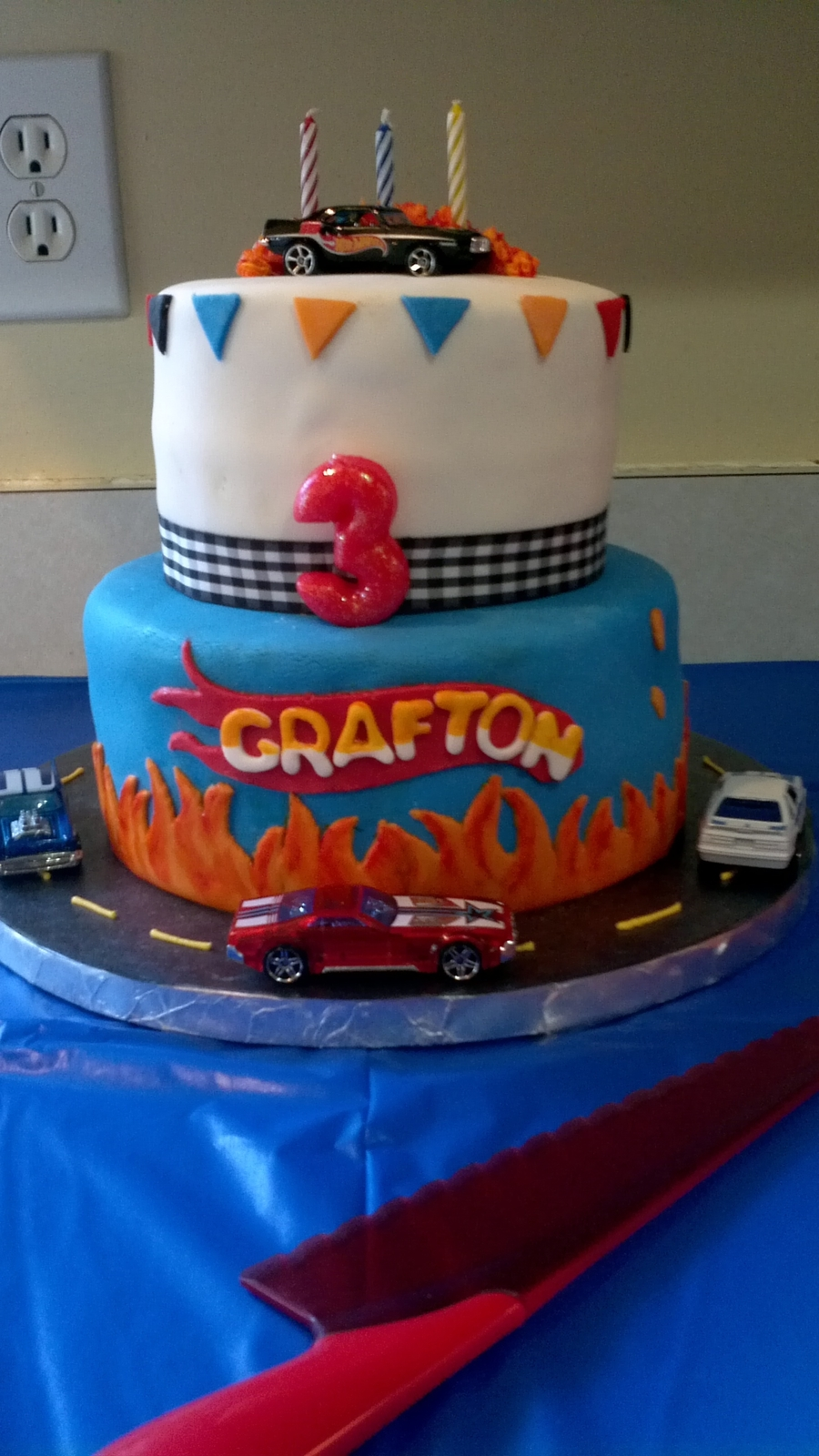 Cake Hot Wheels Birthday