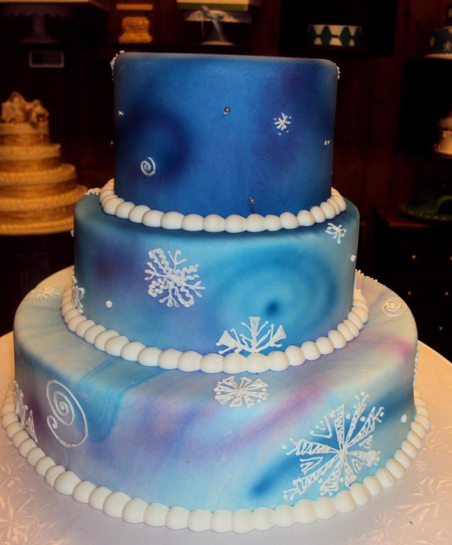 Winter Birthday Cake Cakecentral