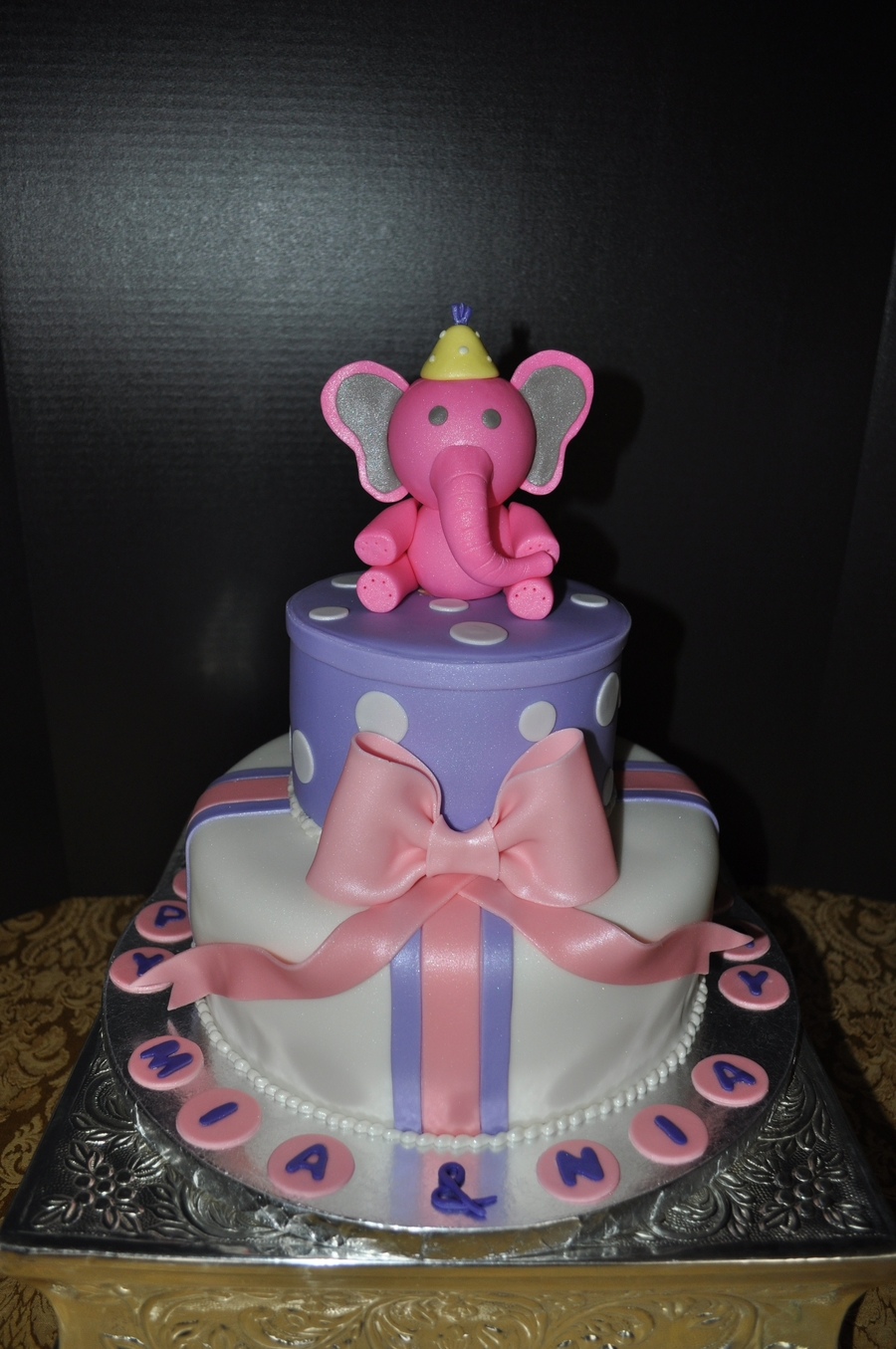 Pink Elephant on Cake Central