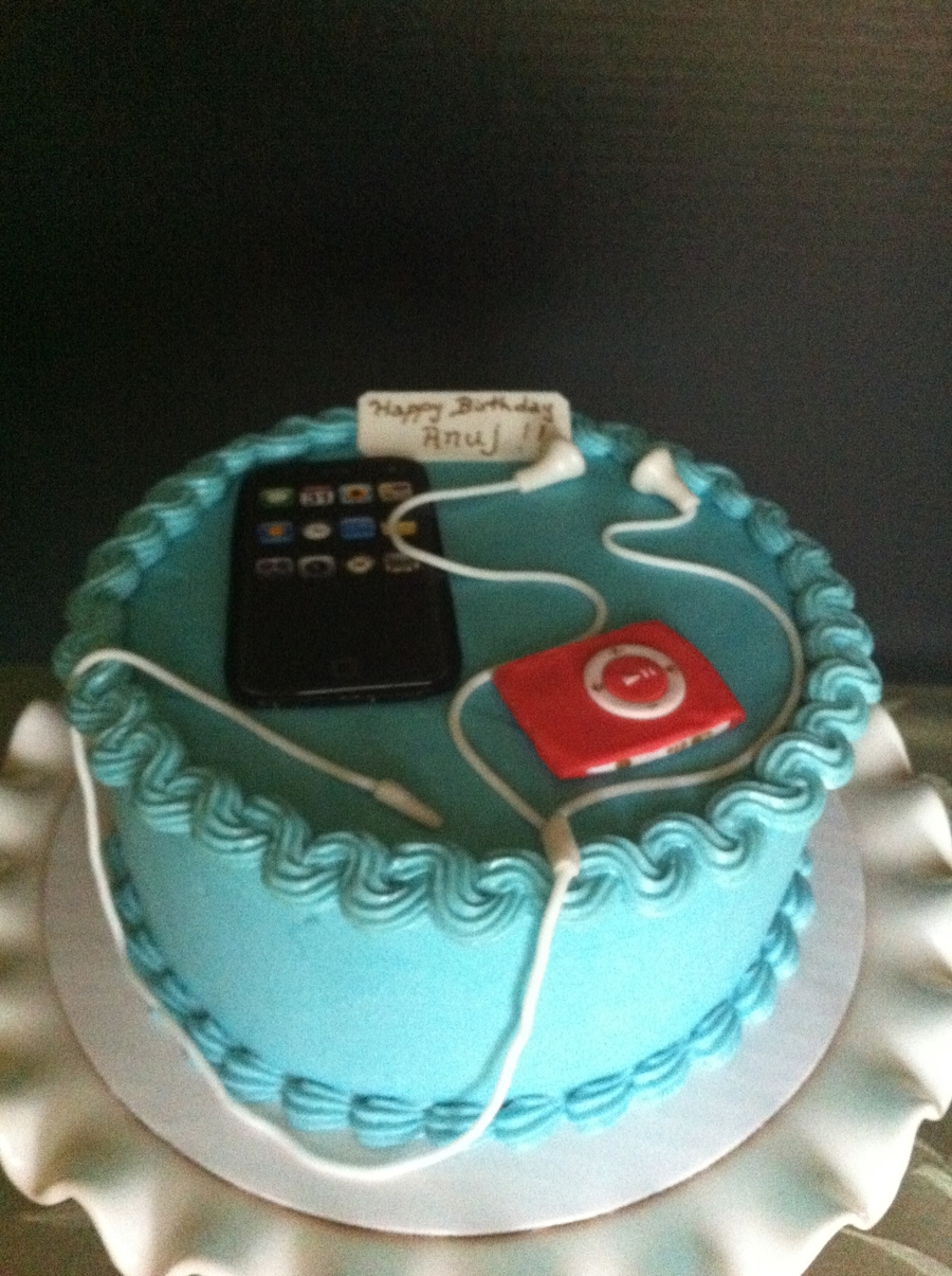 Iphone - Ipod Cake on Cake Central