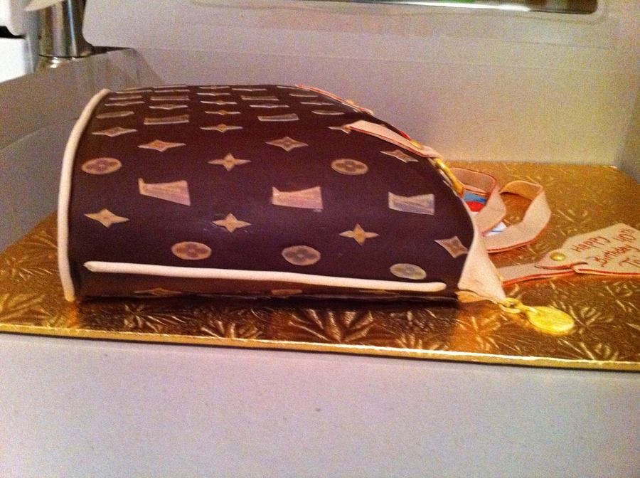 My First Louis Vuitton Purse Cakecentral Com