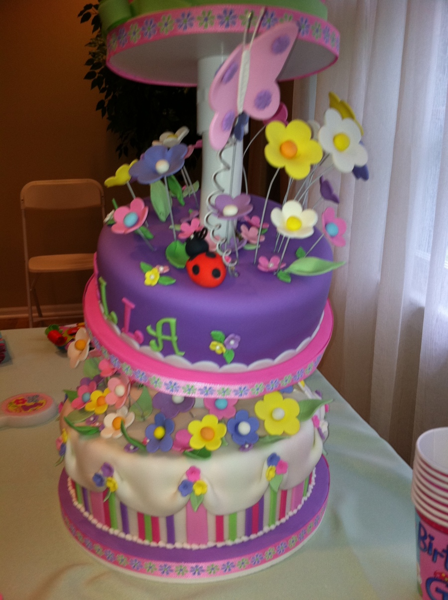 I Made This For My Nieces First Birthday Sister Got The Idea From Site Think We Just It Match Colors Of Invitation