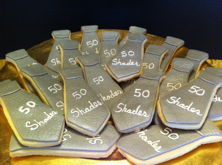 50 Shades Cookies on Cake Central