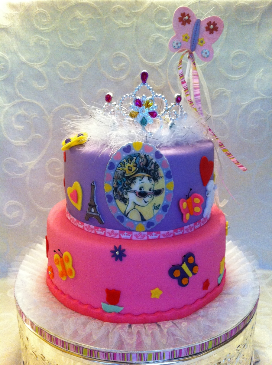 Fancy Nancy on Cake Central