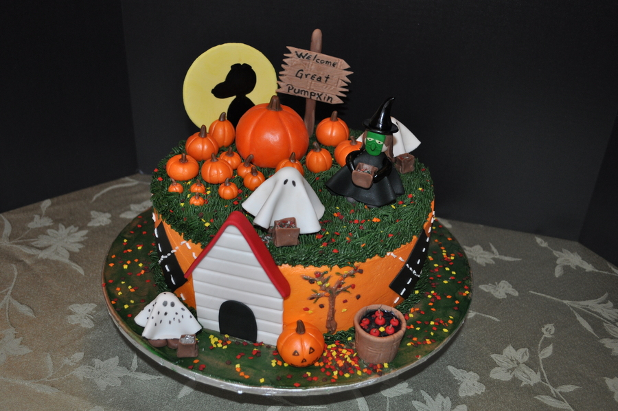 The Great Pumpkin Cake on Cake Central