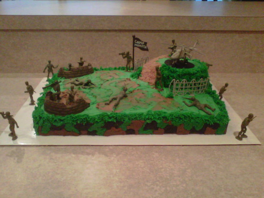 Army Birthday Cakecentral Com