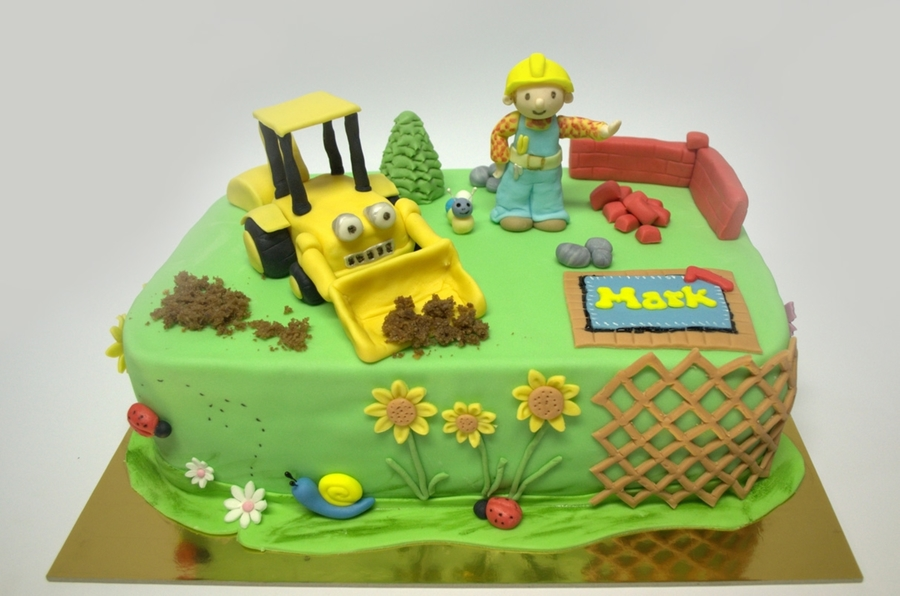 Bob The Builder  on Cake Central