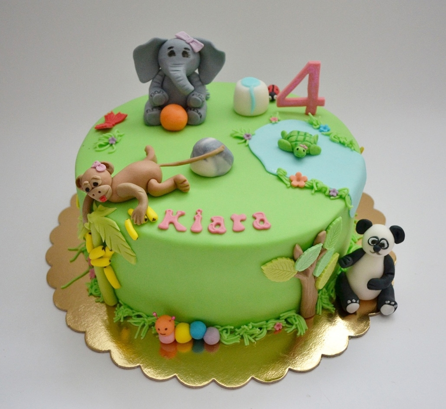 Zoo Cake on Cake Central
