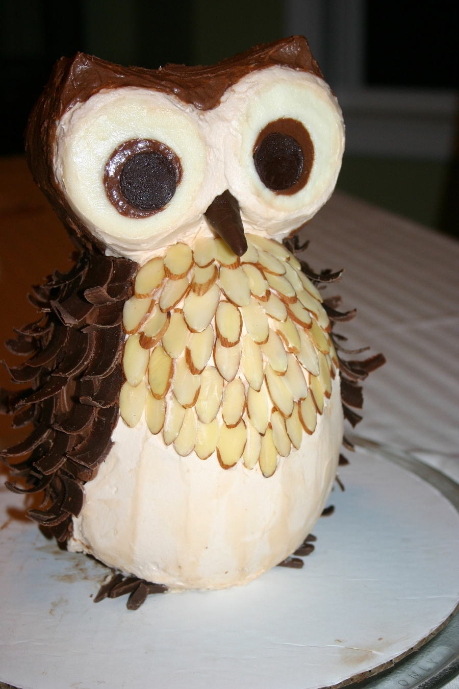 Owl Cake 2Nd Birthday on Cake Central