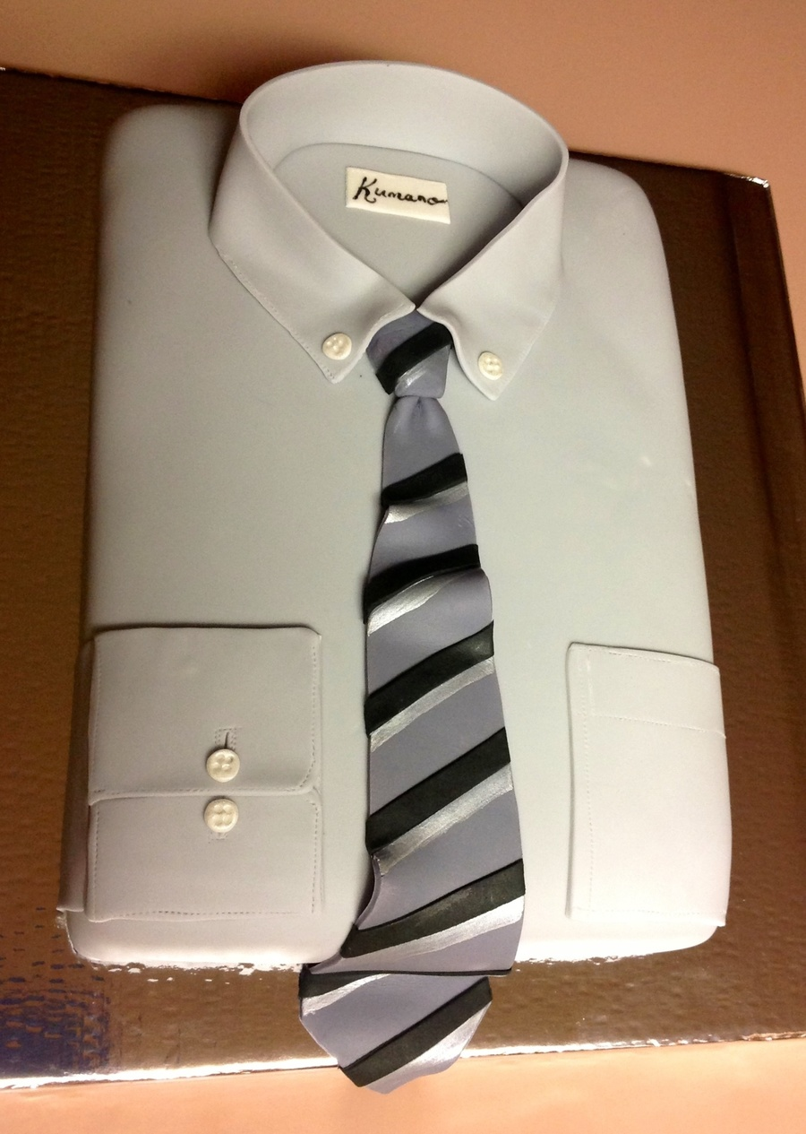 Shirt And Tie on Cake Central