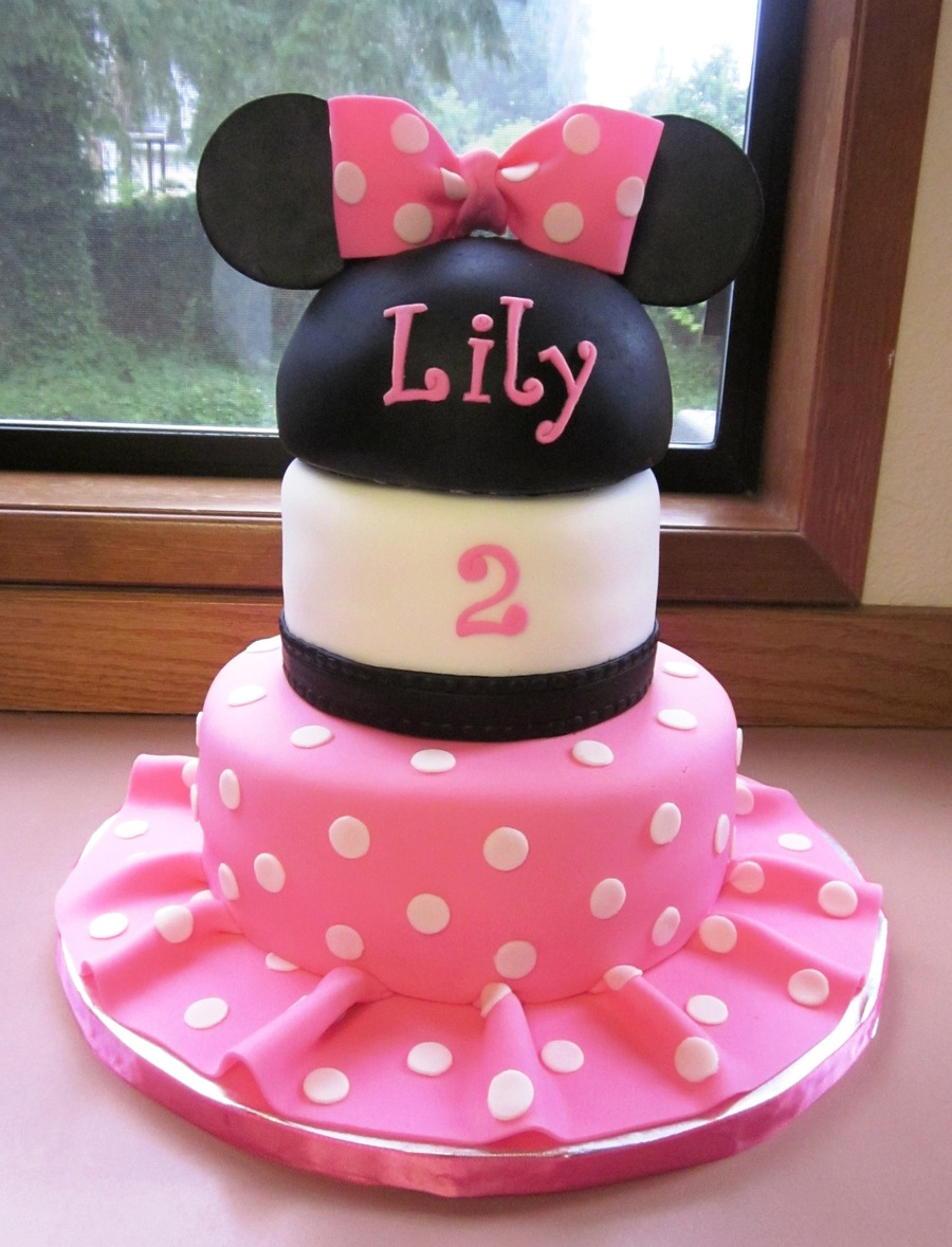 Admirable Minnie Mouse 2Nd Birthday Cake Cakecentral Com Funny Birthday Cards Online Alyptdamsfinfo