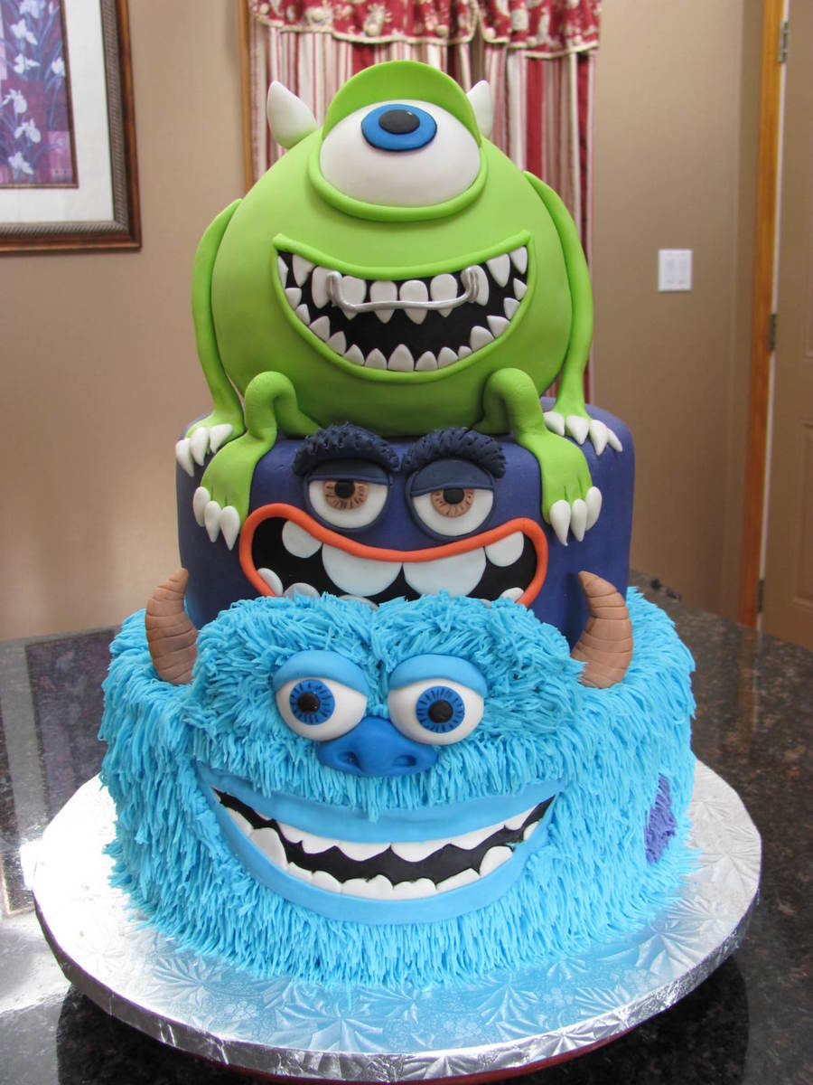 Stupendous Monsters University Cakecentral Com Personalised Birthday Cards Epsylily Jamesorg