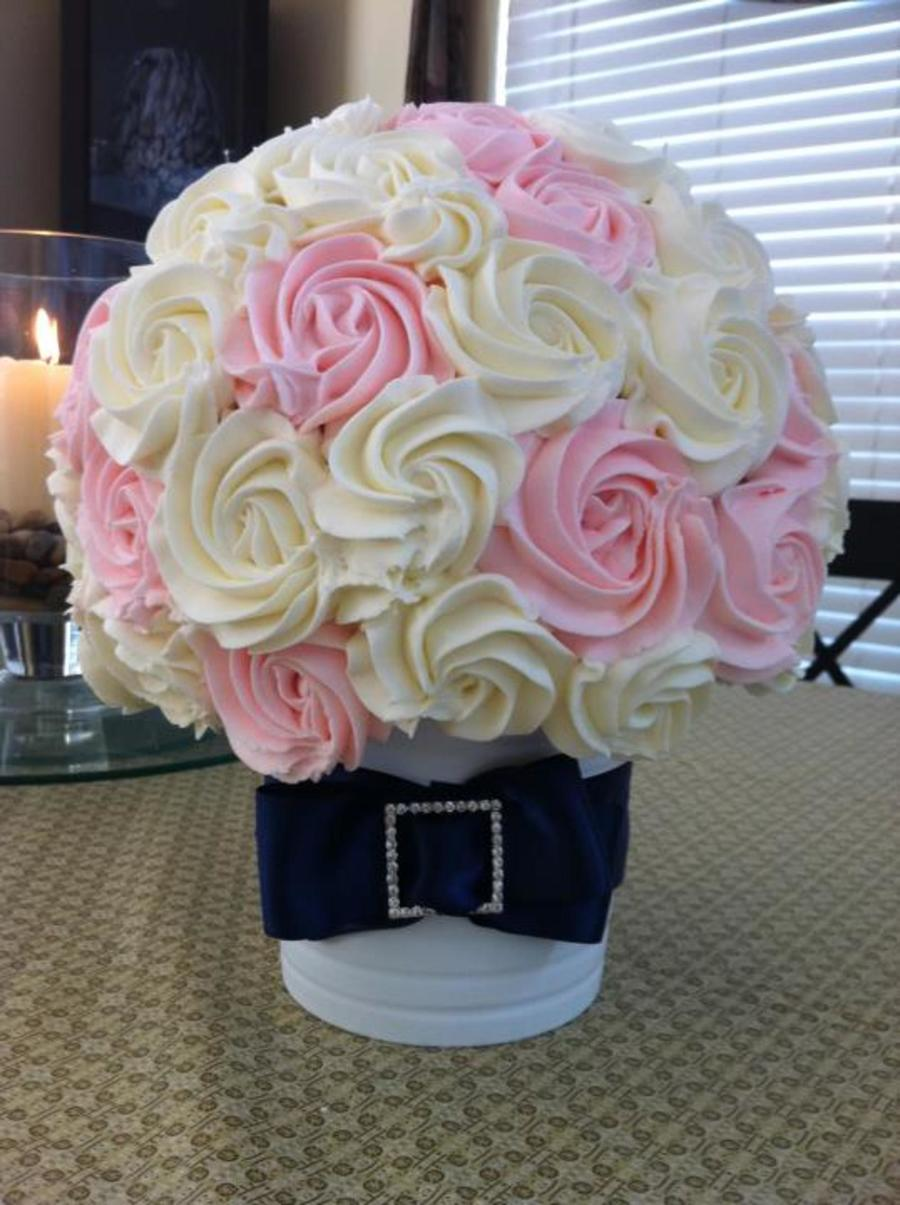 Wedding Bouquet Cupcake Bouquet on Cake Central