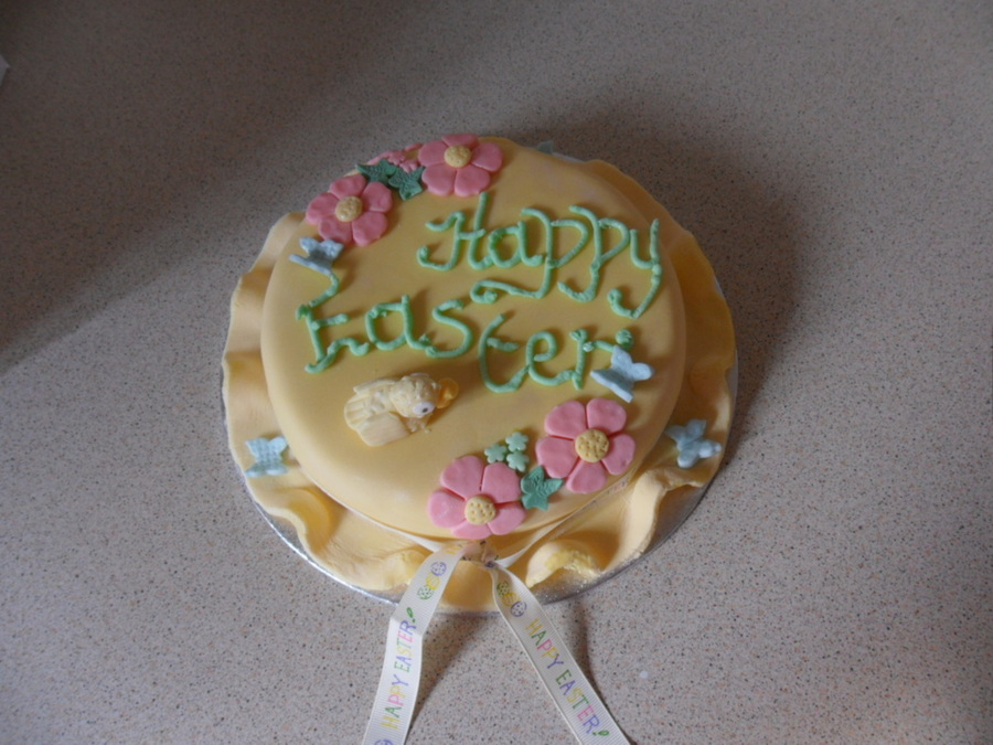 Easter Bonnet on Cake Central