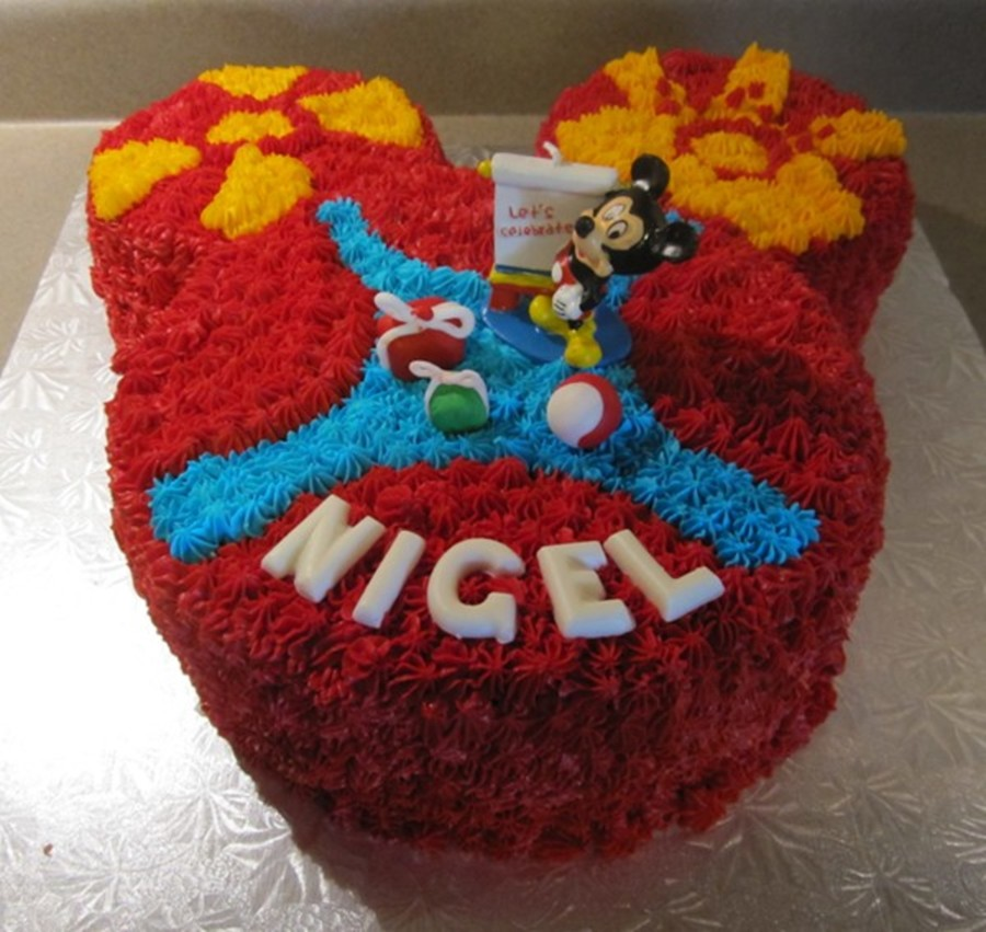 Mickey Mouse Club Birthday on Cake Central