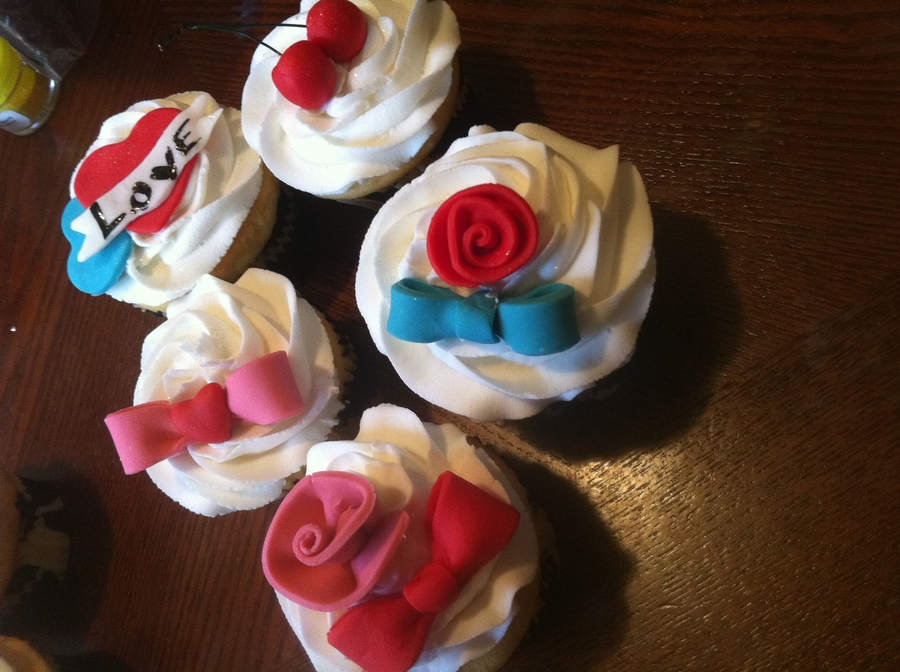 Rockabilly Cupcakes on Cake Central