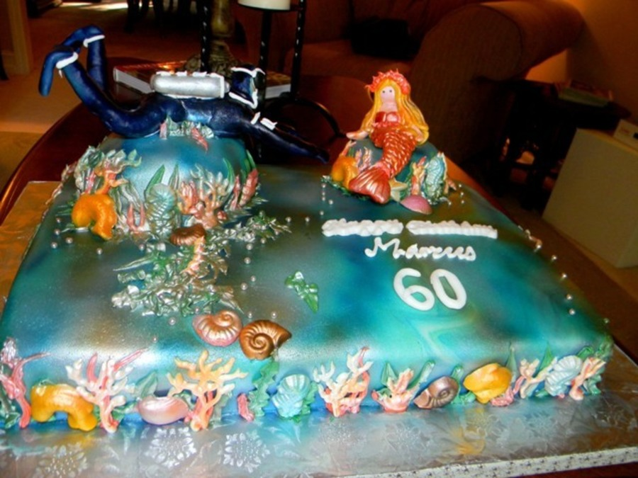 Magical Underwater World on Cake Central