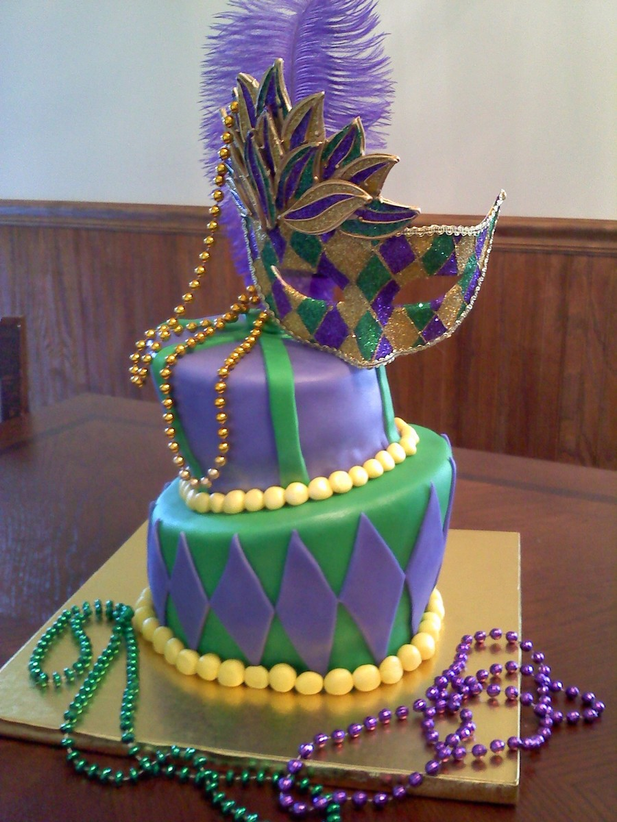 Excellent Happy Mardi Gras Birthday Cakecentral Com Funny Birthday Cards Online Alyptdamsfinfo