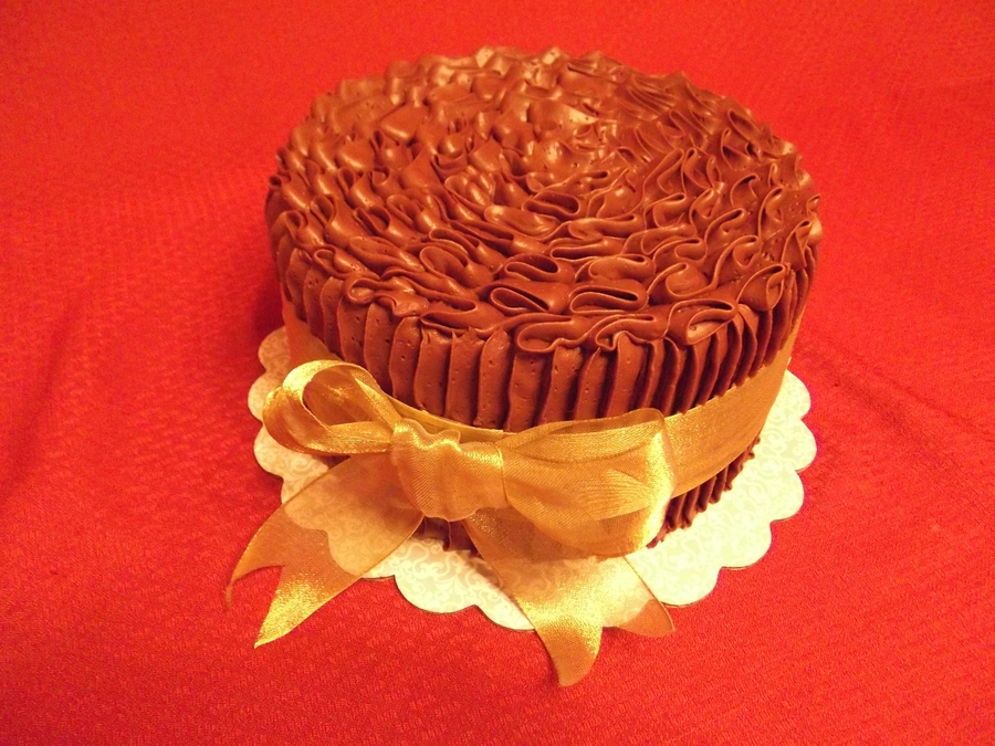 Chocolate With Petal Tip on Cake Central