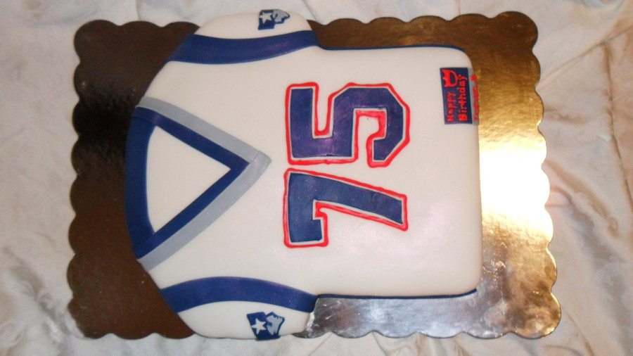 New England Patriots Jersey on Cake Central