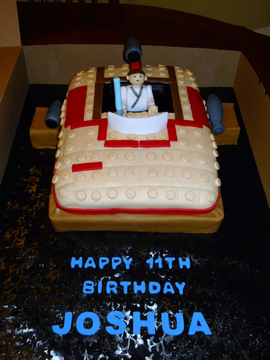 Lego Star War Ship on Cake Central