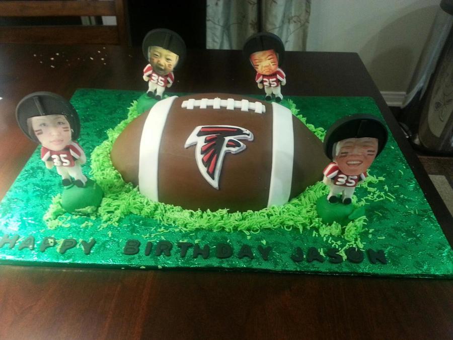 Atlanta Falcons Birthday Cake On Central