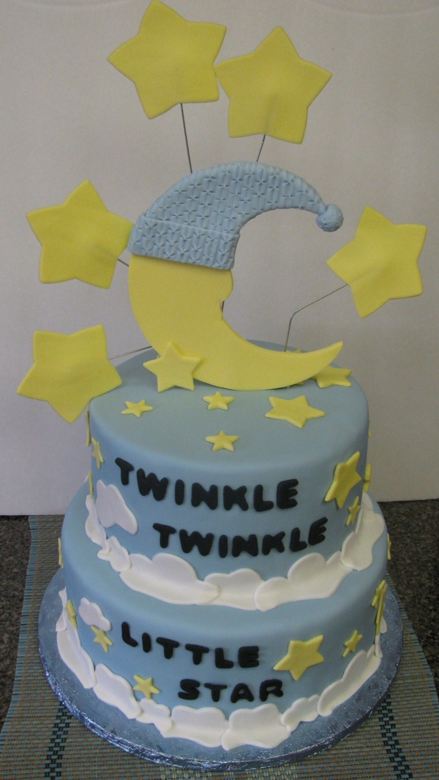 Twinkle Twinkle Little Star Baby Shower Cake Cakecentral