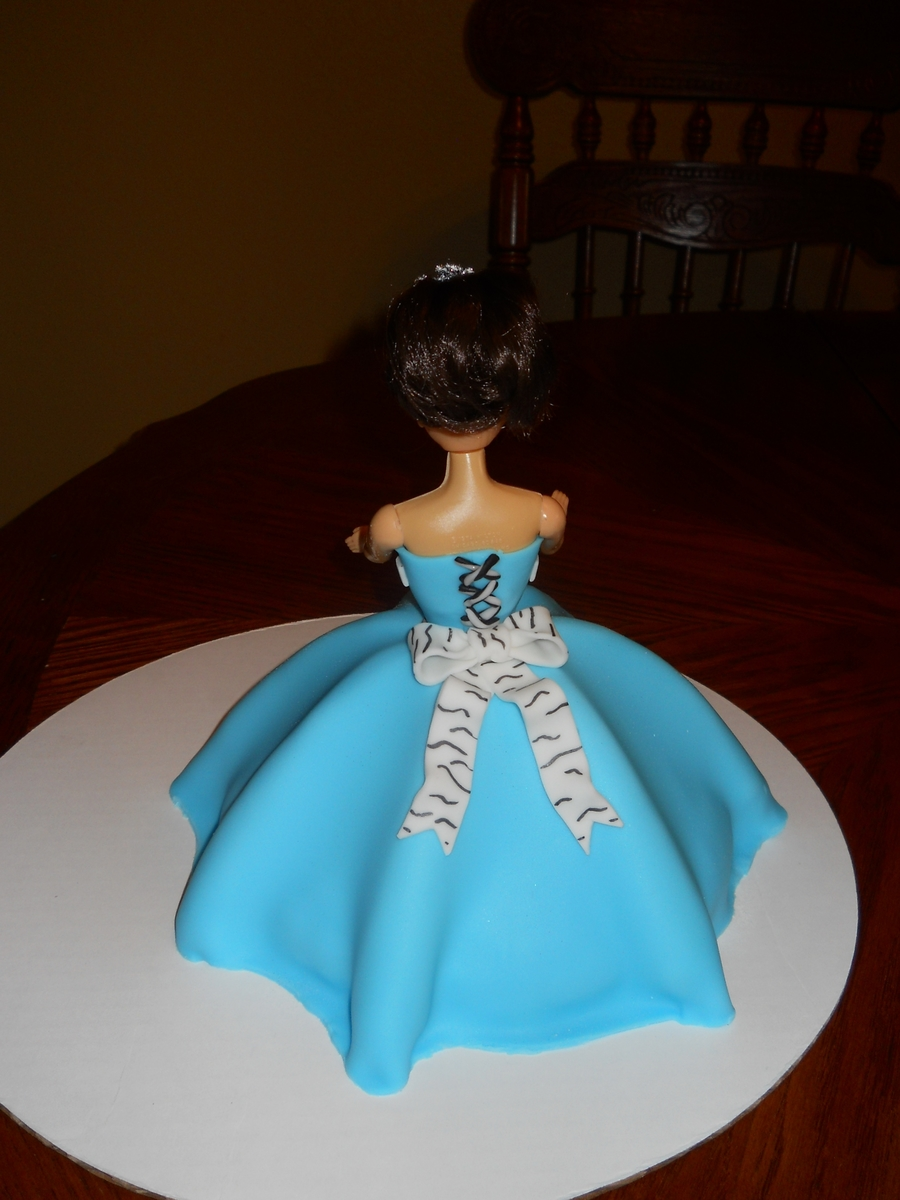 Turquoise And Zebra Quinceanera Cake Cakecentral Com