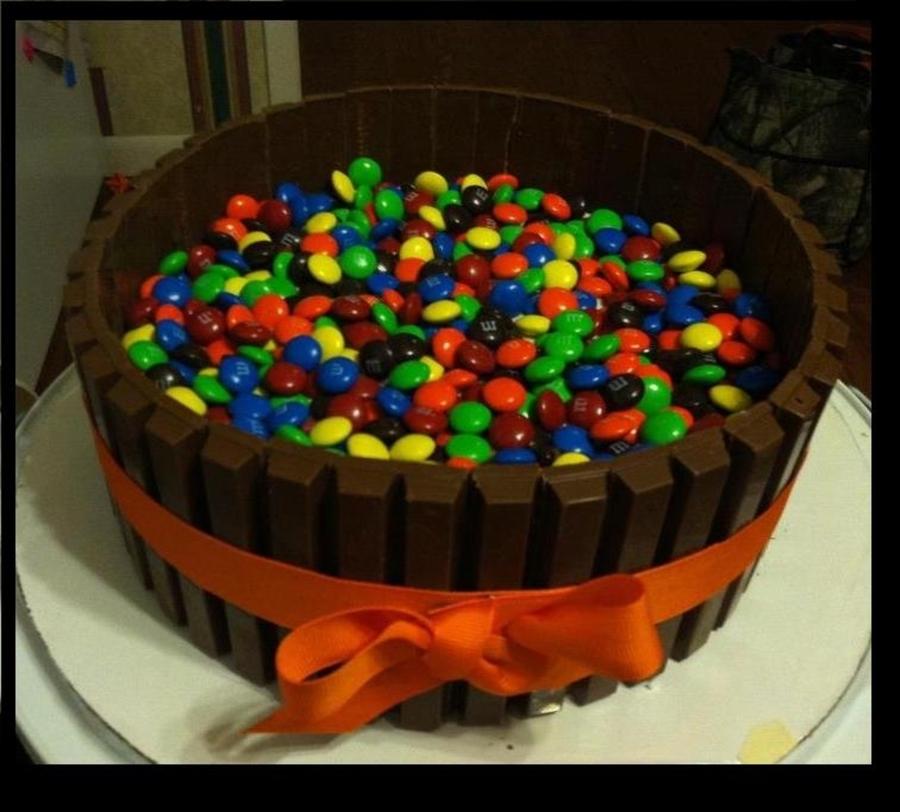 M And M Kit Kat Cake Recipe