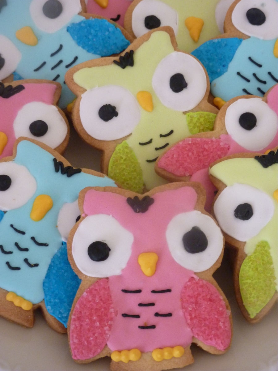 Owl Cookies on Cake Central