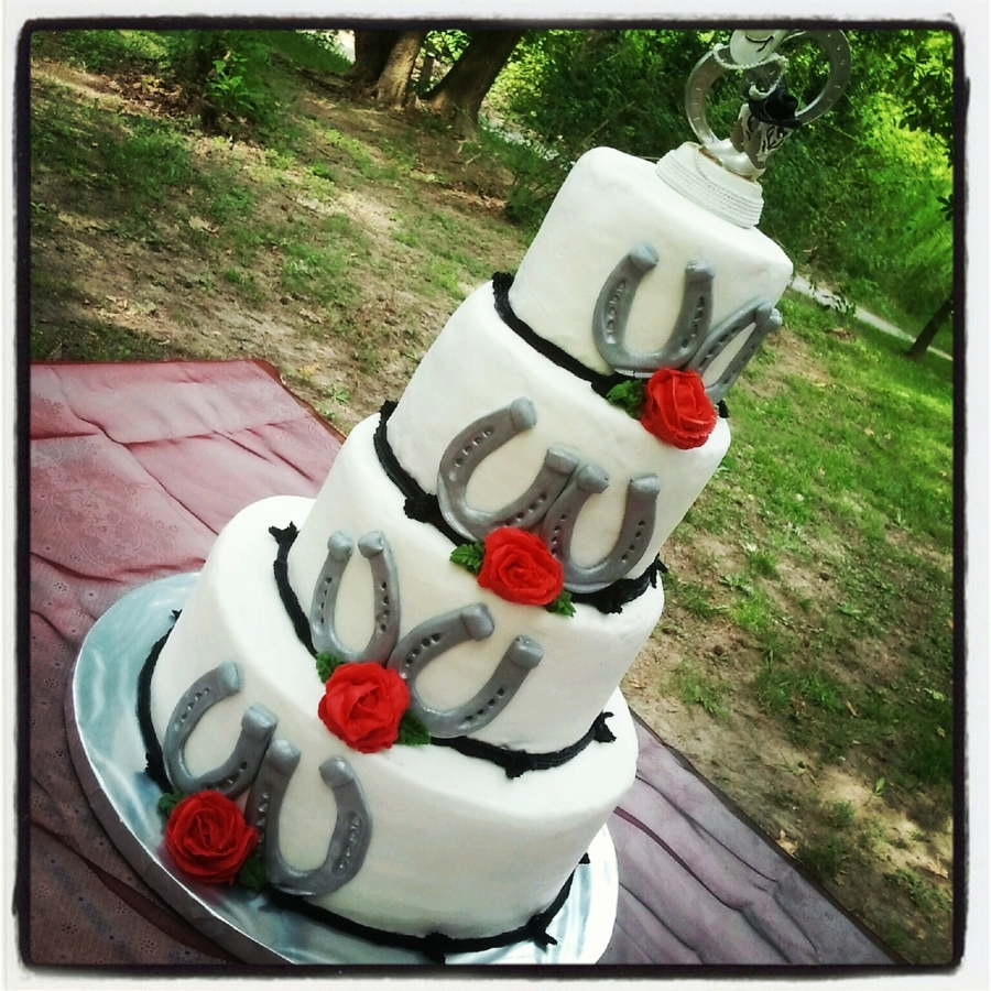 Western Wedding on Cake Central