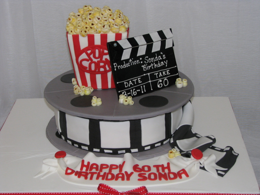 Movie Themed 60th Birthday Cake Cakecentral Com