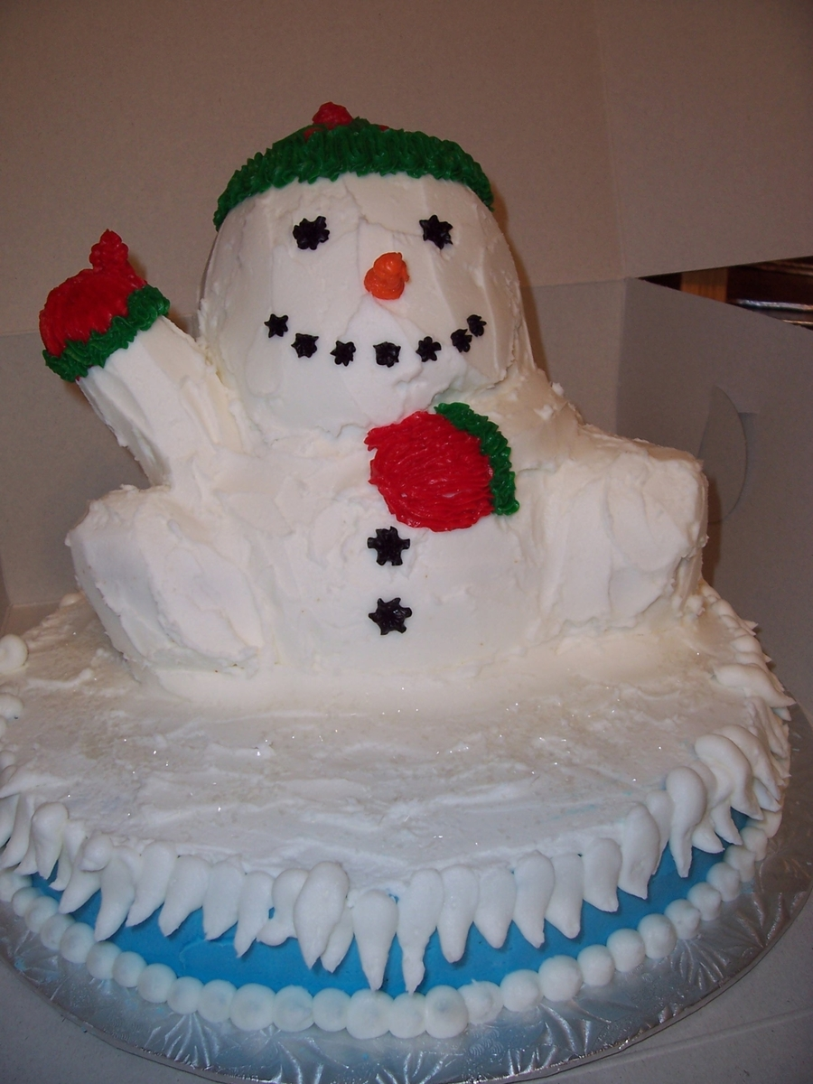 Let It Snow on Cake Central