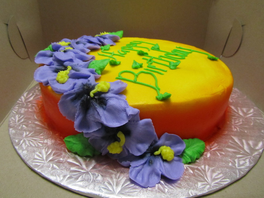 Tropical Treat on Cake Central