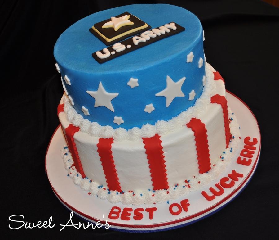 Us Army Cake CakeCentralcom
