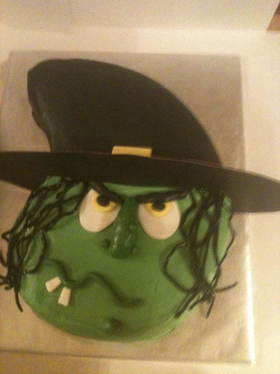 Witch on Cake Central