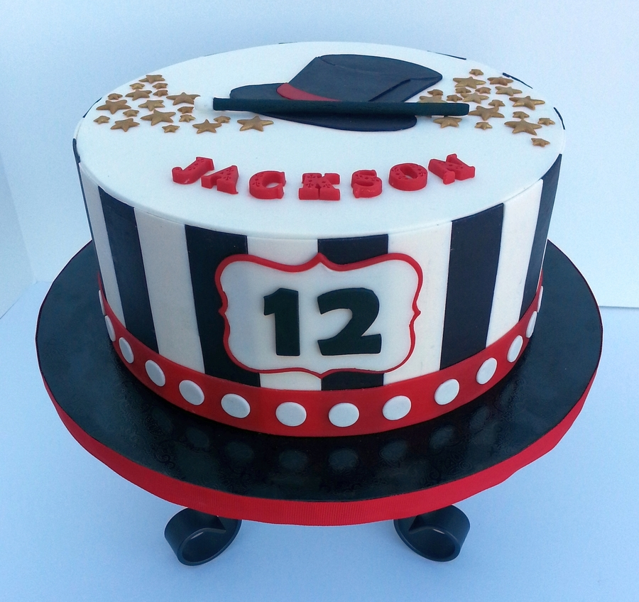 Magic Themed Cake - CakeCentral.com