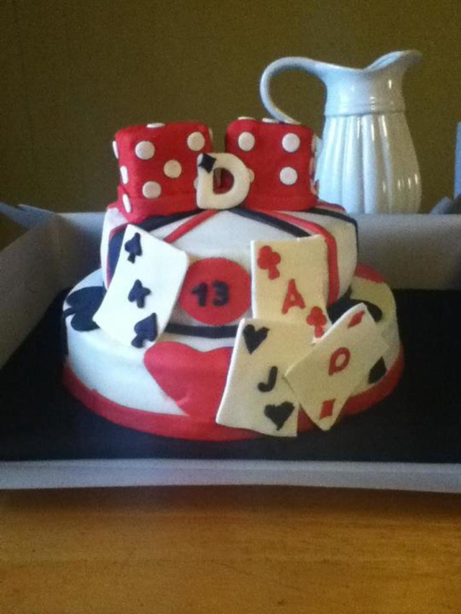 Cards And Dice on Cake Central