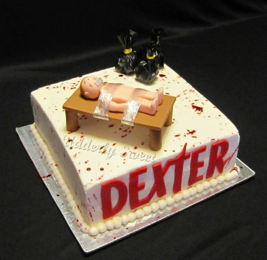 Dexter Birthday Cake on Cake Central