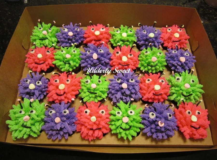 Silly Monster Cupcakes on Cake Central