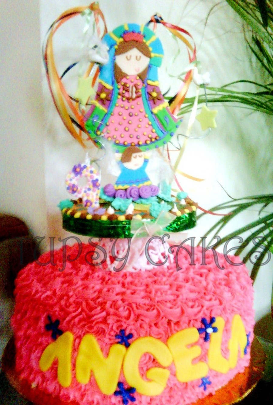 Virgencita Plis on Cake Central