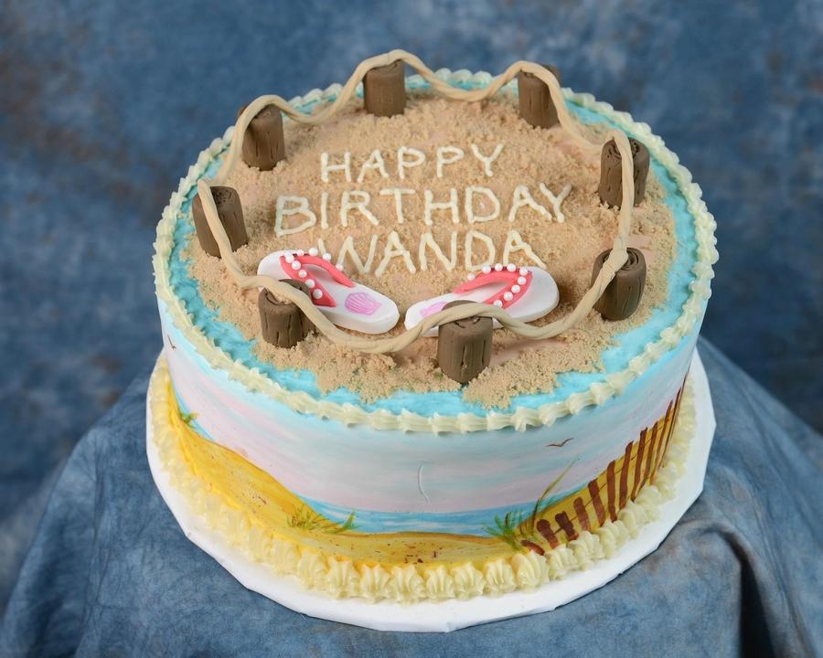 Sugar Sand Cake Decorating
