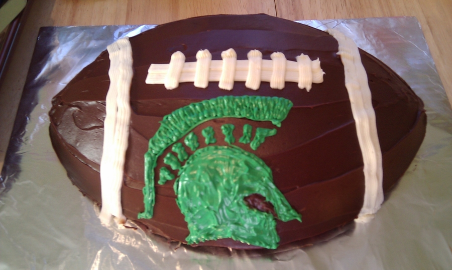 Michigan State Football on Cake Central