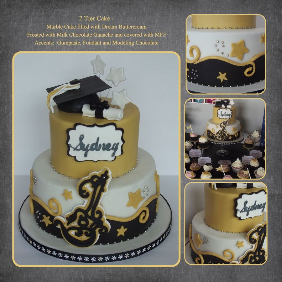 2 Tier Cake Inspired By Jessica Harris Marble Cake Filled