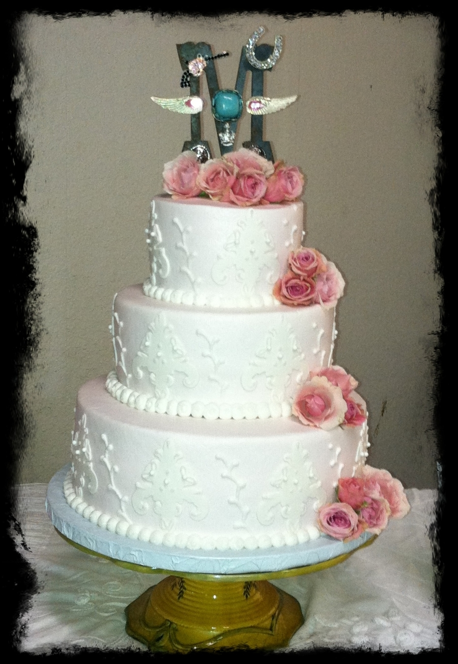Vintage Wedding on Cake Central