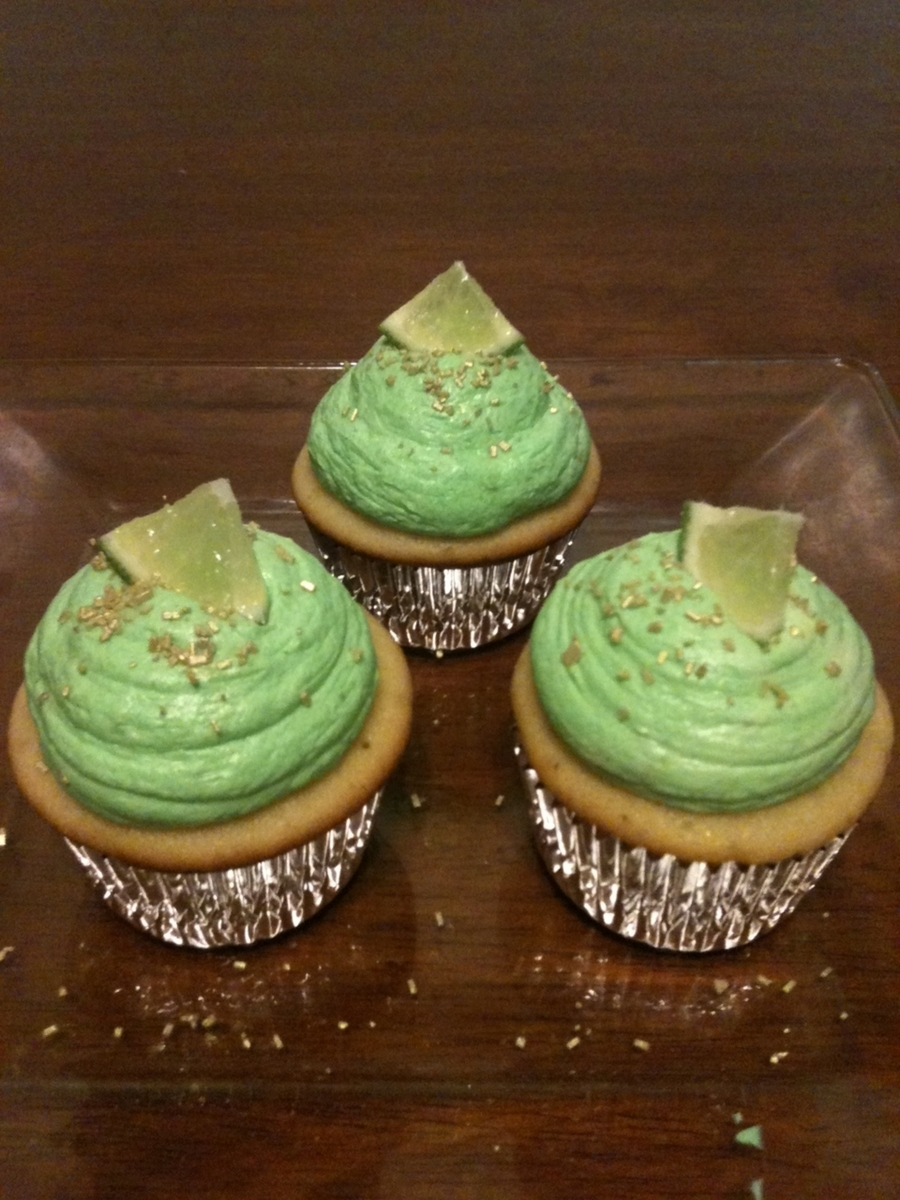 Vanilla Lime Cupcakes on Cake Central