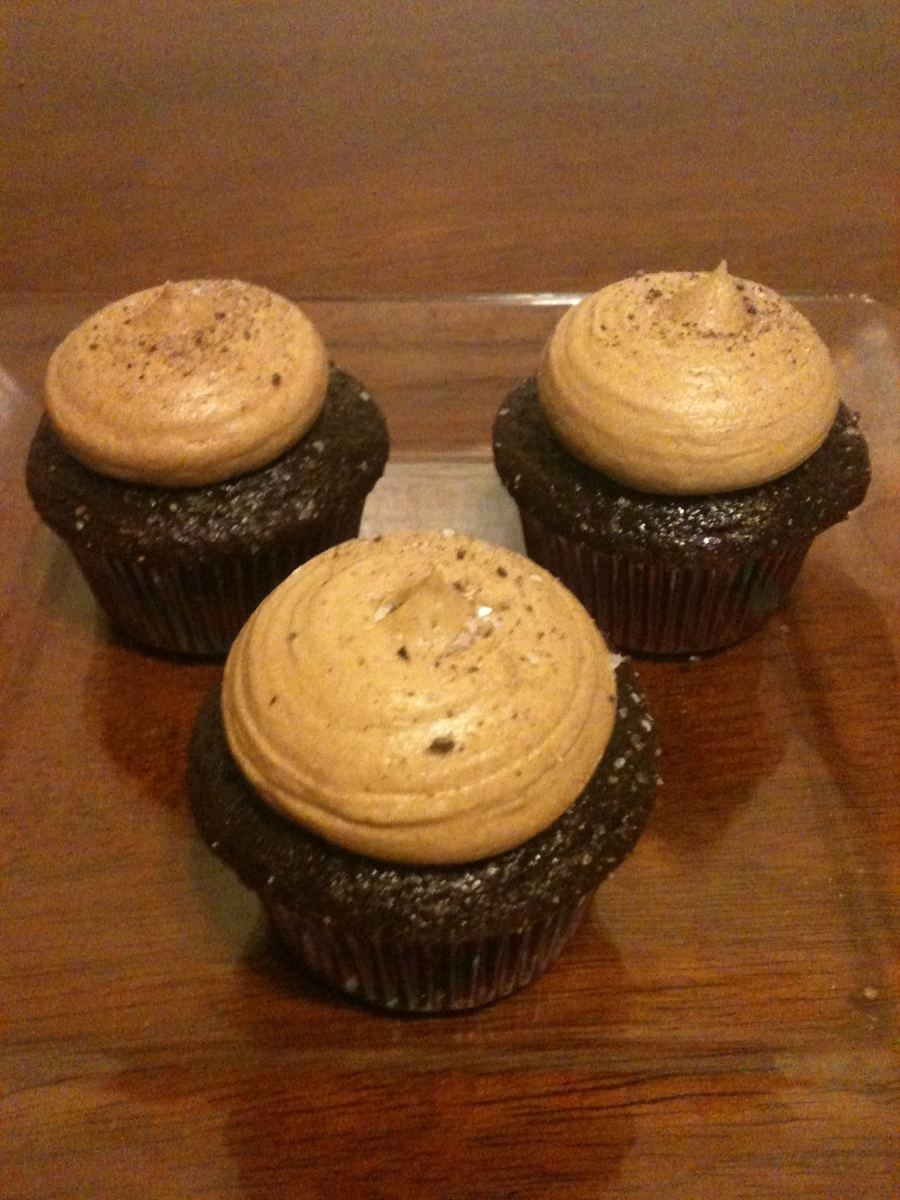 Mocha Cupcakes on Cake Central