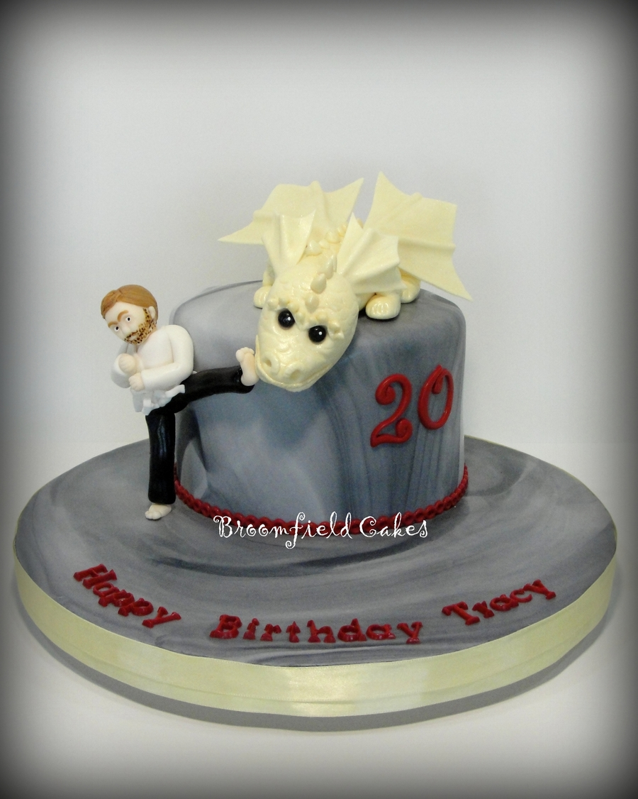 Miraculous Chuck Norris Cake Cakecentral Com Funny Birthday Cards Online Alyptdamsfinfo